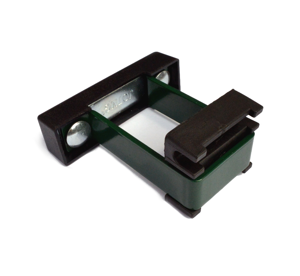 Příchytka panelu U na sl. 60x40 PVC, zelená SAFETY AKCE!!