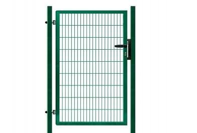 Branka výplň svařovaný panel 2D, výška 100 x 100 cm FAB zelená