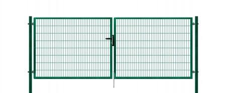 Brána výplň svařovaný panel 2D, výška 160x400 cm FAB zelená