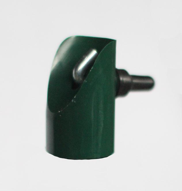Koncovka na vzpěru PVC 38 mm - zelená