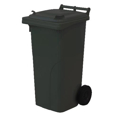 MEVA nádoba na odpadky 120l PH ČER