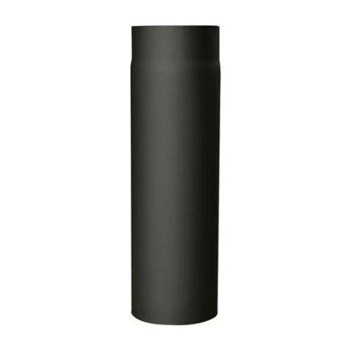 EUROMETAL roura kouřová s klap.130 mm/1000 t.1,5 mm ČER