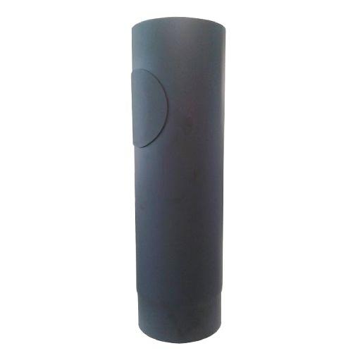 EUROMETAL roura kouřová s otv.130 mm/ 500 t.1,5 mm ČER