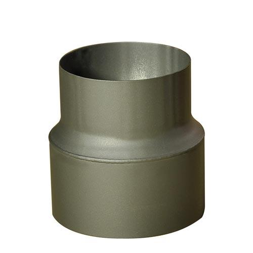 EUROMETAL redukce trubková 200/150 mm (d.160 mm) t.1,5 mm ČER