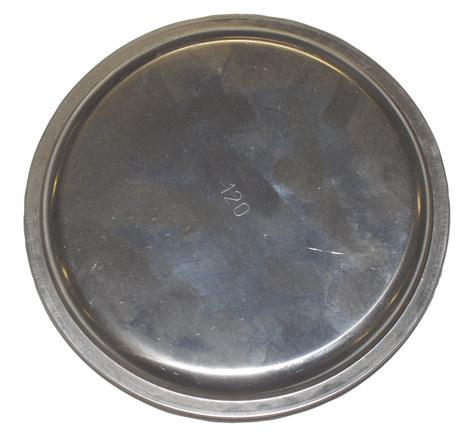 MARS víčko kouřové 100 mm Ni