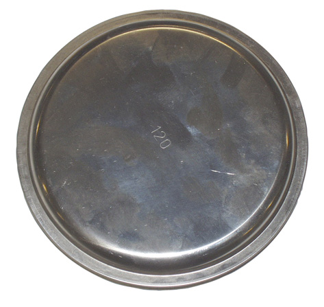 MARS víčko kouřové 118 mm Ni