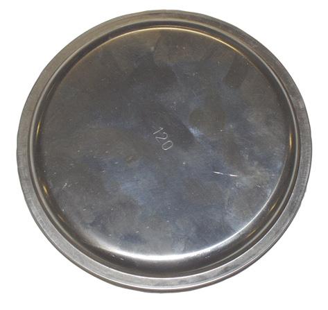 MARS víčko kouřové 160 mm Ni
