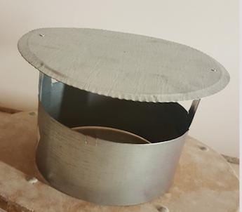 stříška komínová 200 mm Zn