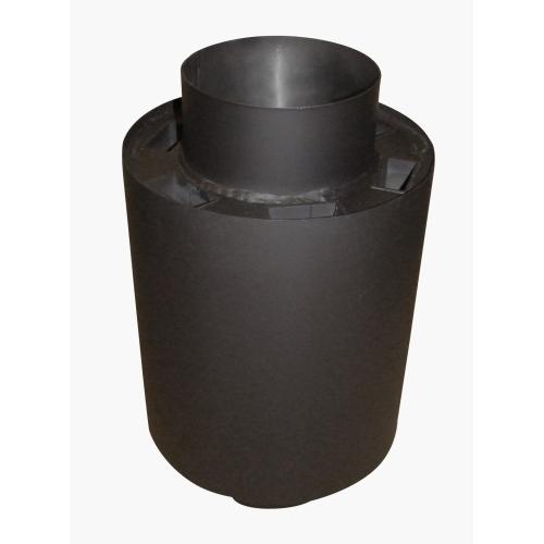 EUROMETAL výměník tepla II pr.150/330 mm ČER 7,5kW