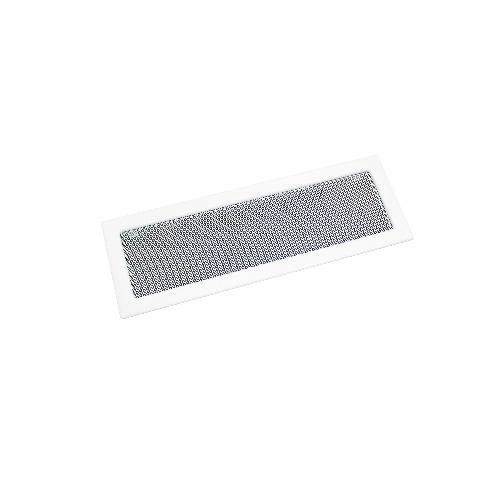 HACO mřížka krb.rámeček+síťovina 170 x 490 mm BÍ lak.