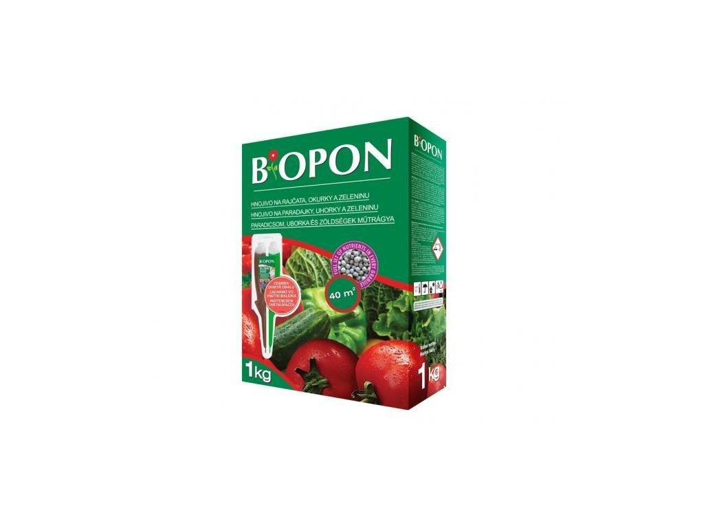 Biopon na rajčata, okurky a zeleninu