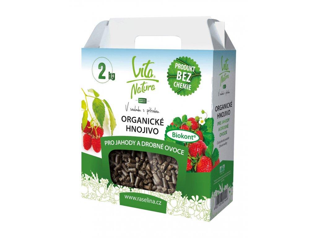 Organicke hnojivo pro jahody 2kg