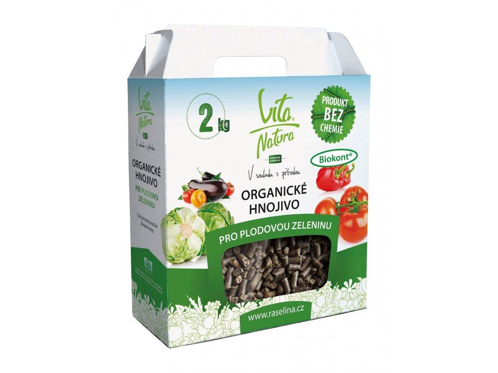Organicke hnojivo pro plodovou zeleninu 2kg