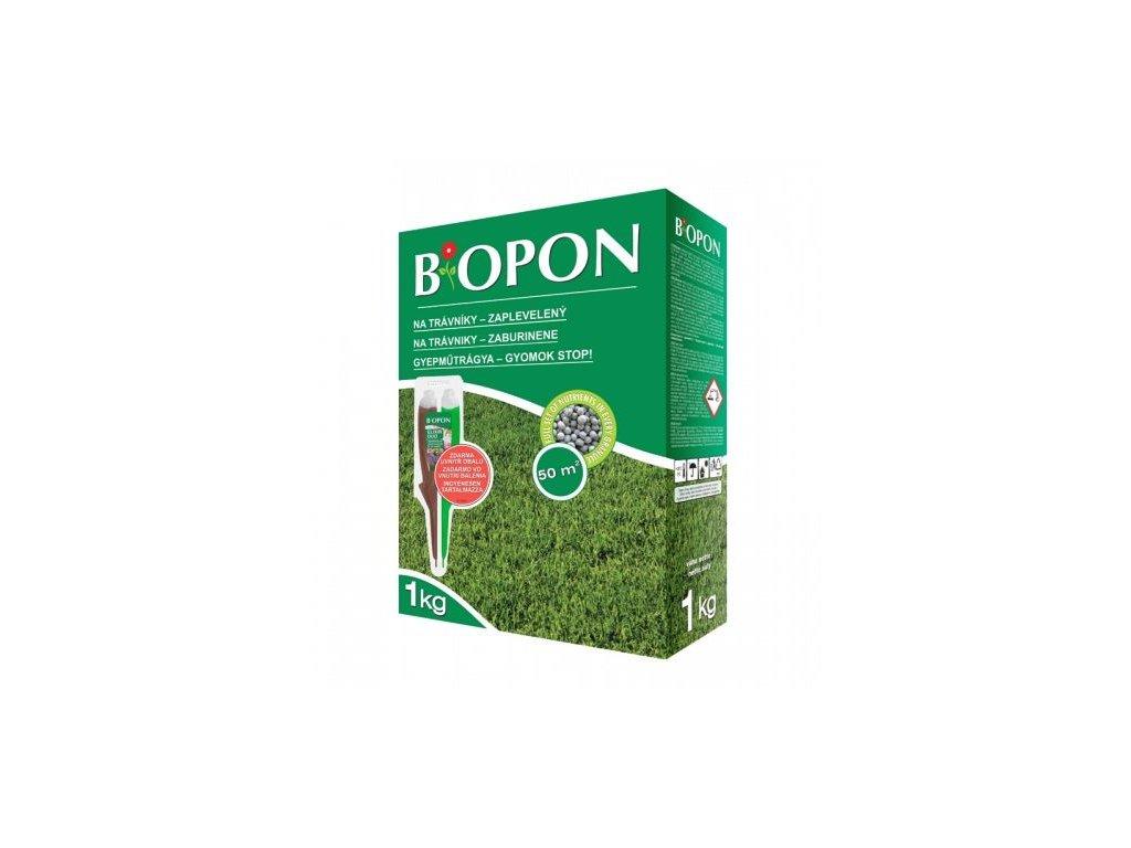 Biopon hnojivo na trávníky zaplevelený + elixir duo