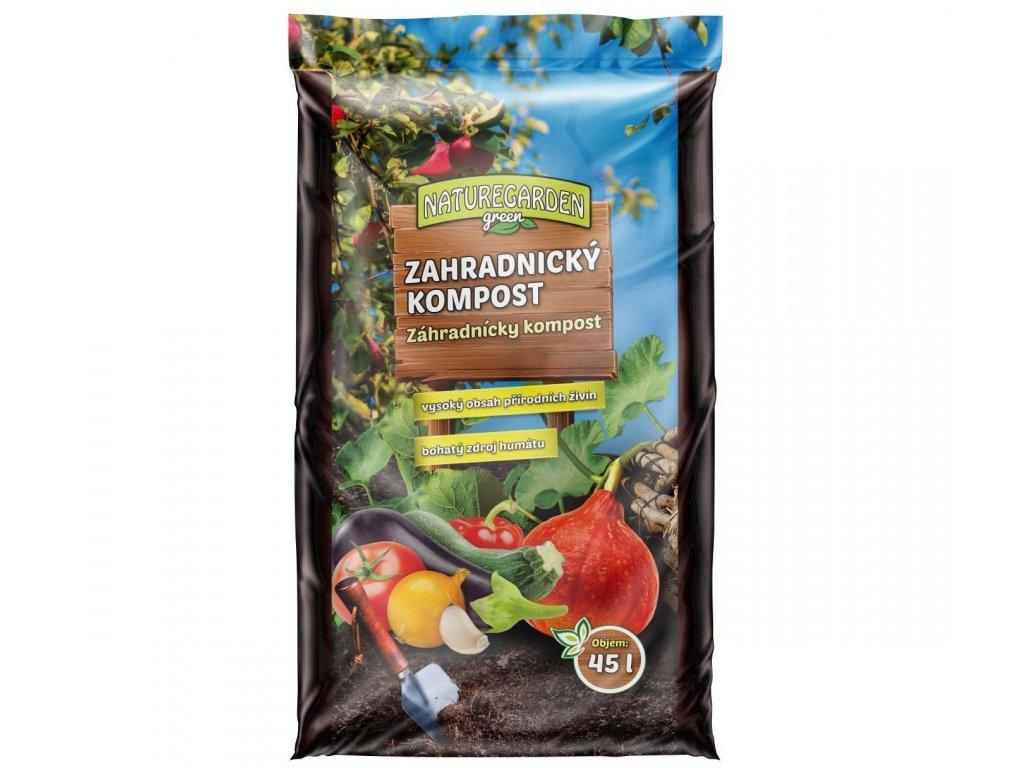 Zahradnicky kompost Natrugarden Green 45l
