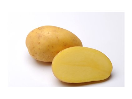 TORENIA, poloraná odrůda brambor, varný typ A, žlutá slupka