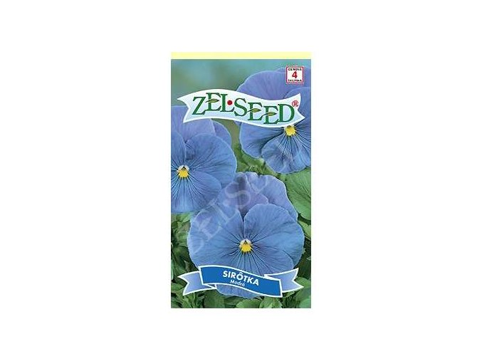sirotka modra 025g zelseed