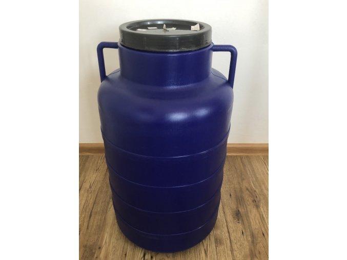 Plastový sud 50 litrový s vekom