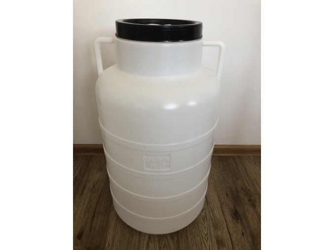 Plastový sud 60 litrový s vekom