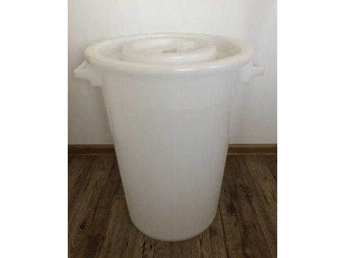 Plastová nádoba s vekom 75 L