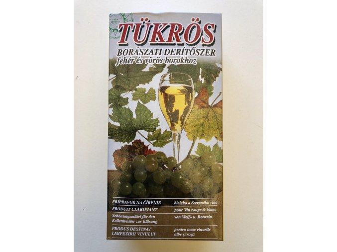 Tukros, prípravok na čírenie