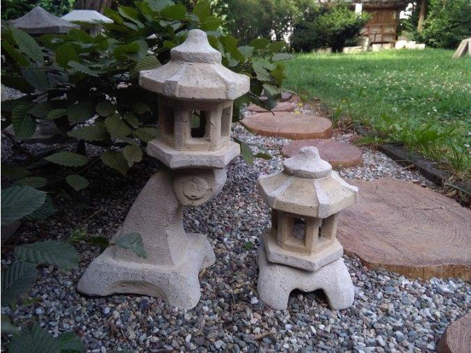 JAPONSKÉ LAMPY SET 2KS