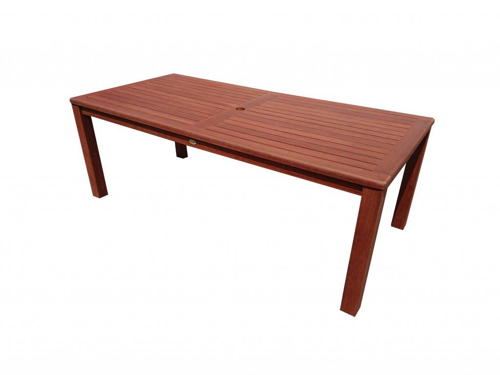 Zahradní dřevěný stůl AUS keruing
