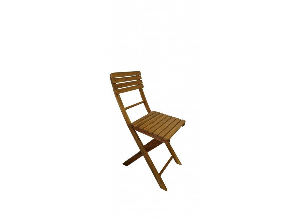 Florabest dřevěná židle skládací