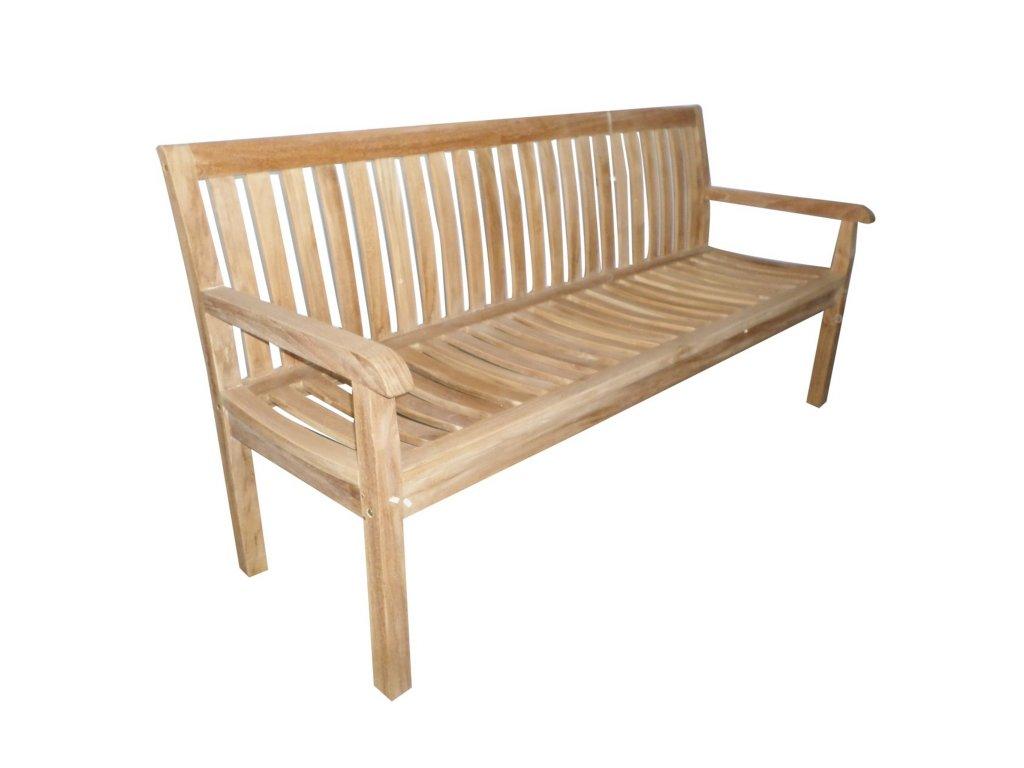 Kingsbury zahradní lavice teak 180 cm
