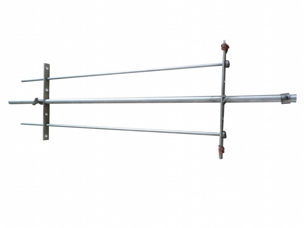 Nerezová grilovací jehla 110 cm obyč