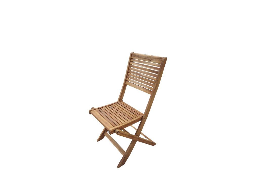 Mandy skládací akáciová židle