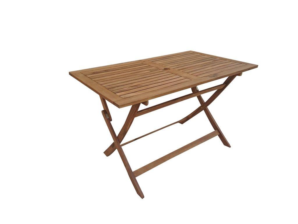 Mandy hranatý akáciový skládací stůl