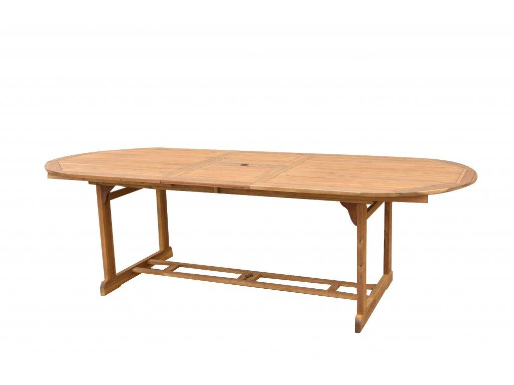 Kory II. akáciový oválný stůl