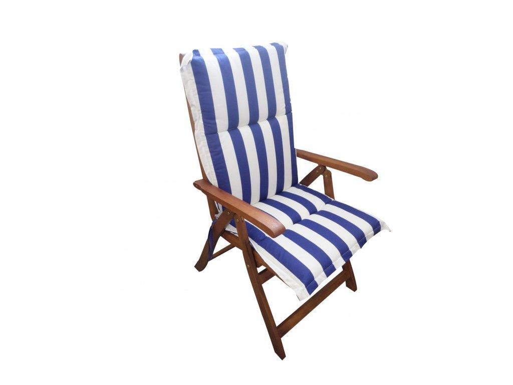 Polstr Námořní na polohovací židli