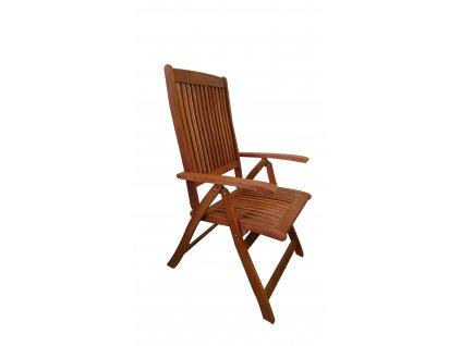 Viet eukalyptová polohovací židle