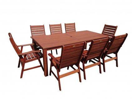 Aus I. zahradní dřevěný set 1+8