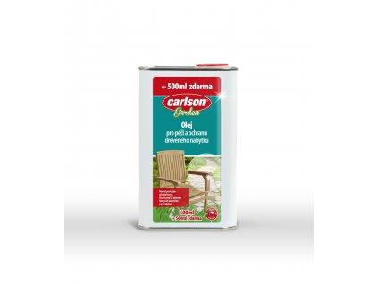 Olej na dřevěný nábytek CARLSON 1l