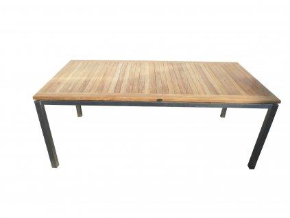 Bruno hranatý teakový stůl