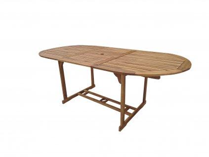 Kory I. akáciový oválný stůl