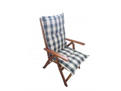 Polstr Zelená kostka na polohovací židli