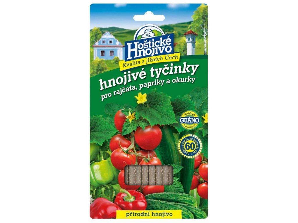Hoštické tyčinky na rajč., pap. a okurky 20 ks