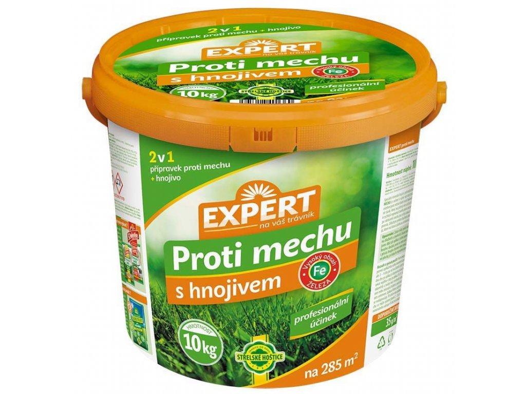 EXPERT proti mechu s hnojivem - kb. 10 kg