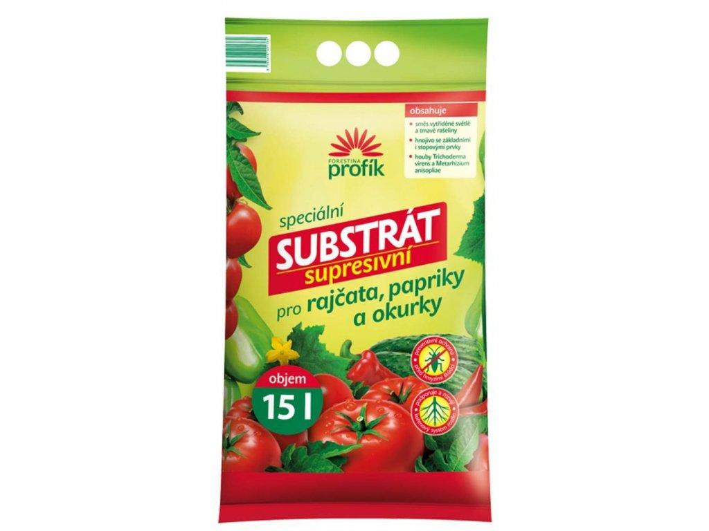 Supresivní substrát pro rajčata, papriky a okurky 15 l, FO