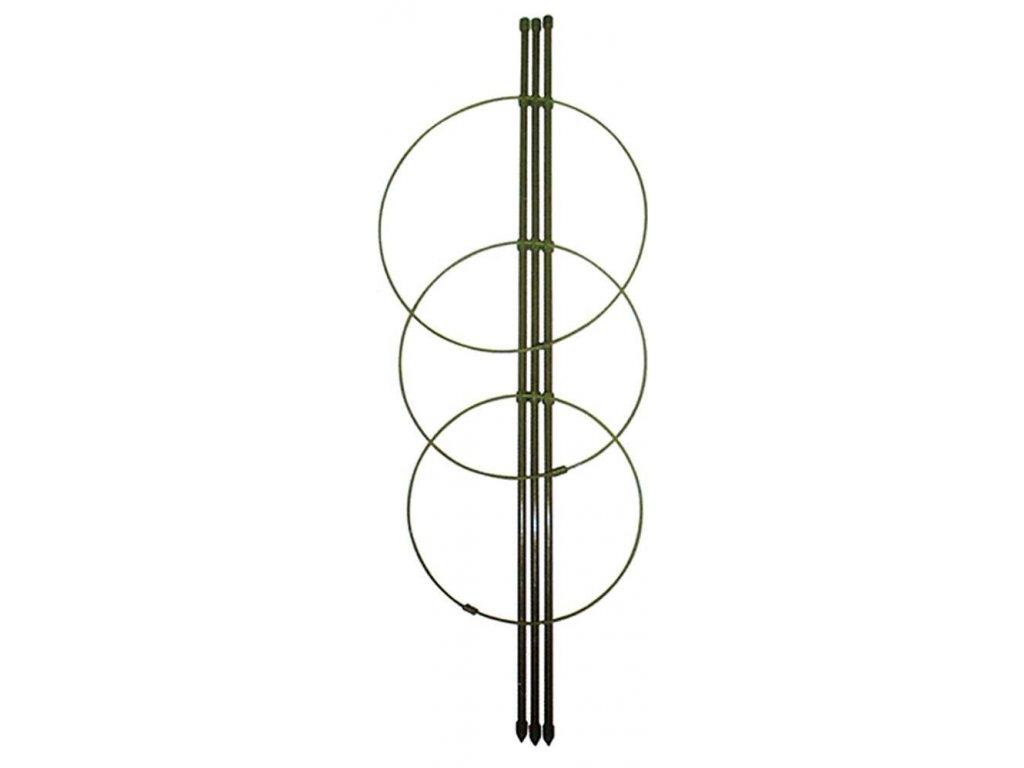 Opěra na květiny, 3 kruhy, 75 cm