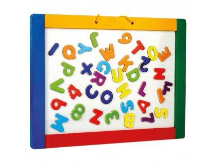 Bino Magnetická tabule na pověšení s písmenky