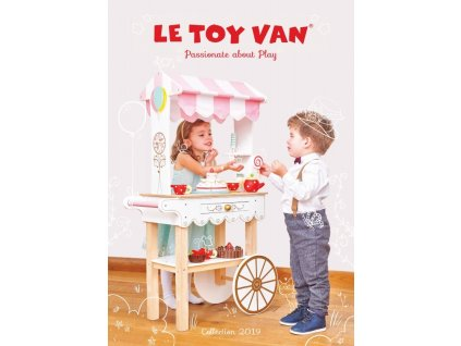 Le Toy Van katalog hraček 2021 tištěný