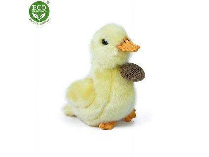 Rappa Plyšová kachna 13 cm ECO-FRIENDLY - bez zvuku