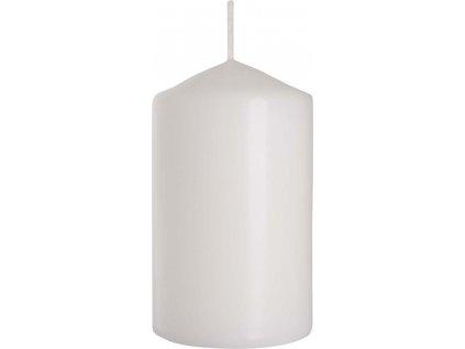 Svíčka válec 6 x 10 cm, bílá