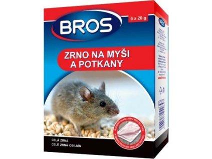 BROS - zrno na myši a pot. 6 x 20 g
