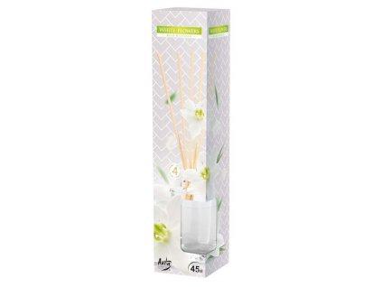 Vonné tyčinky - 45 ml, bílé květy